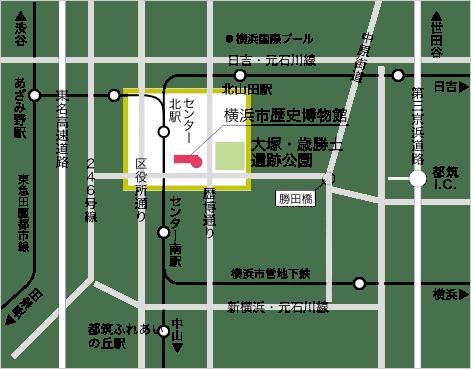横浜市歴史博物館 地図01
